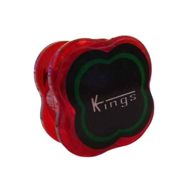 Dichavador Kings Pequeno Policarbonato - Vermelho