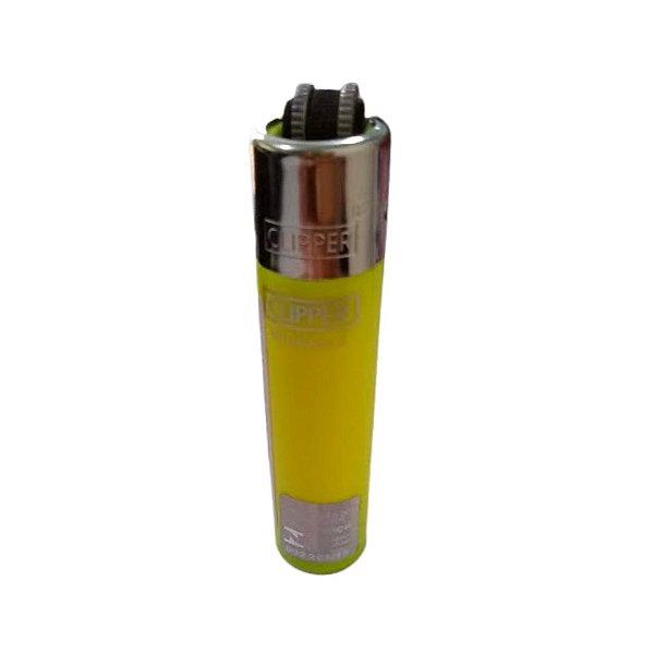 Isqueiro Clipper Mini - Amarelo