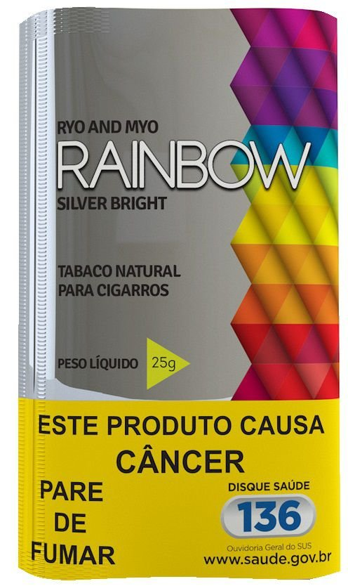 Tabaco para cigarro Rainbow Silver Bright