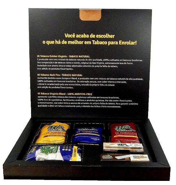 KIT Para enrolar - Hi Brasil Tobacco