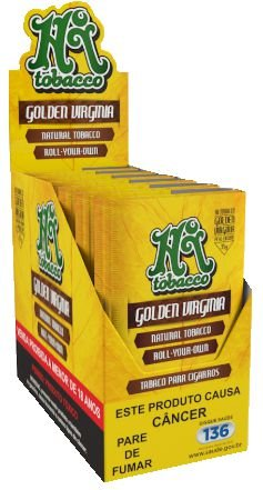 Tabaco para Cigarro Hi Tobacco Golden Virginia Box 6un