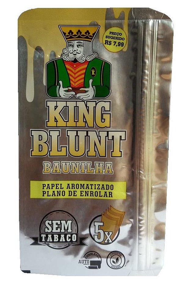 King Blunt sabor Baunilha Sem Tabaco