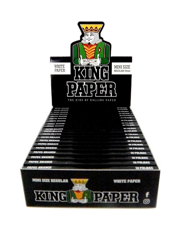 Seda King Paper White Mini Size - Display com 20 un