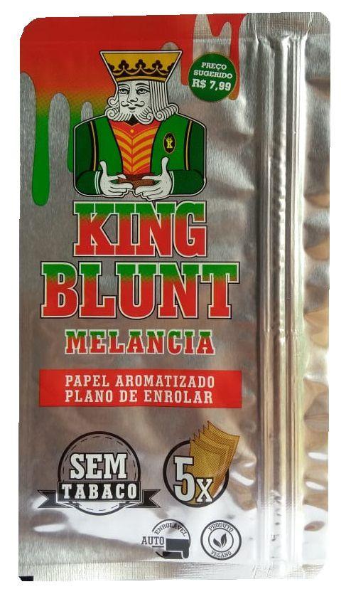 King Blunt sabor Melancia Sem Tabaco