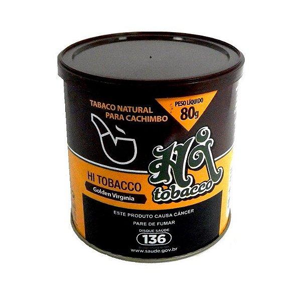 Tabaco para Cachimbo Hi Tobacco Golden Virginia Lata 80g