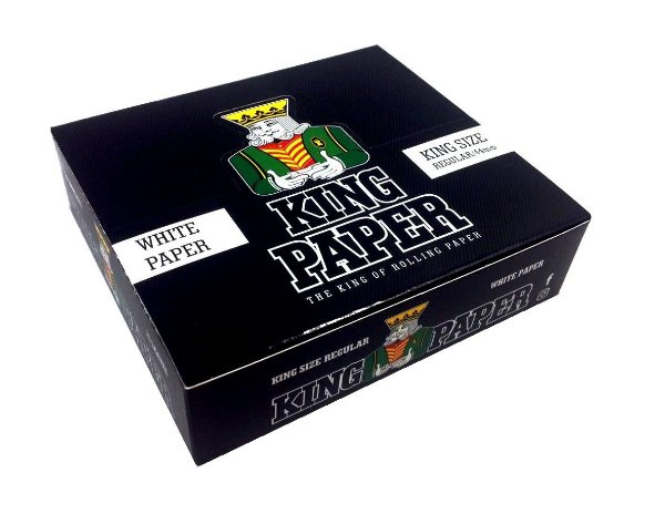 Seda King Paper White King Size - Display com 20un