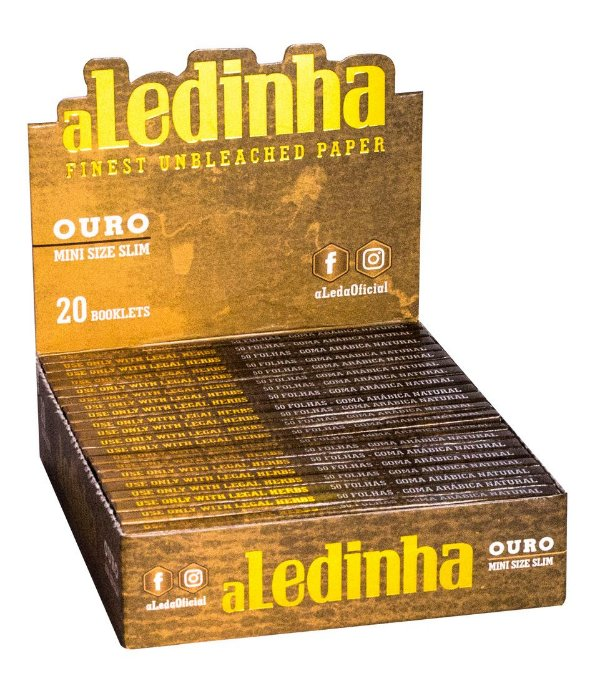 Seda aLedinha Ouro Display Mini Size