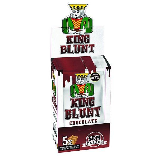 King Blunt Chocolate Sem Tabaco - Display 25un