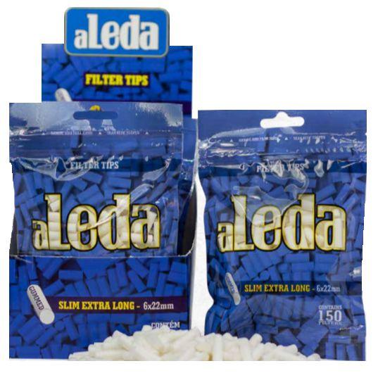 FILTRO DE ACETATO 6MM EXTRA LONG ALEDA - DISPLAY COM 10 BAGS