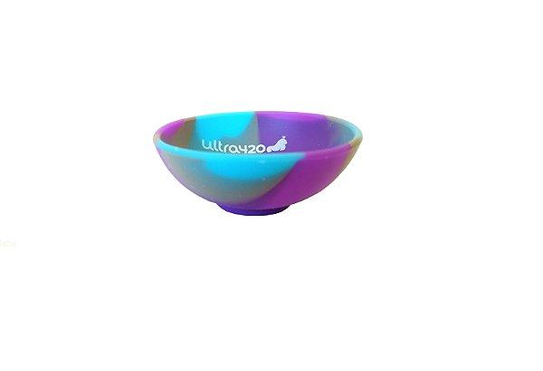 Mini Cuia de Silicone - Roxa