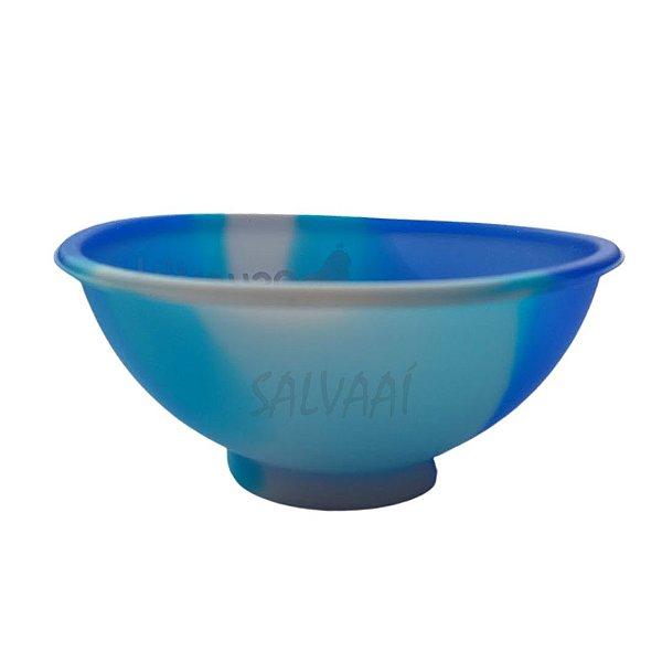 Cuia Grande de Silicone - Azul
