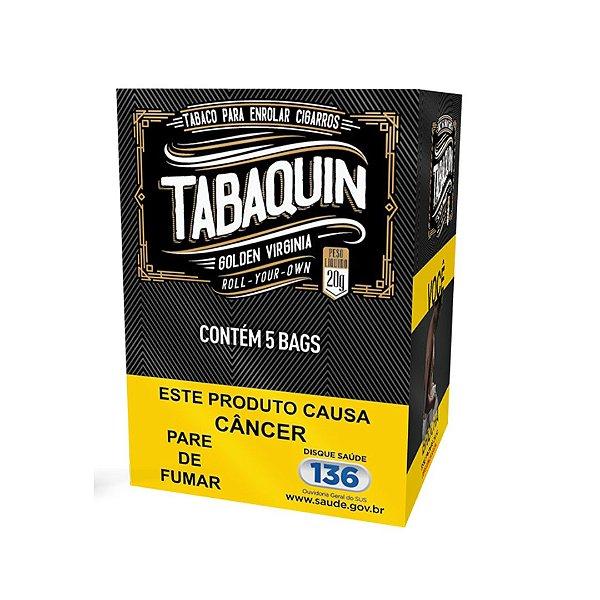 Tabaquin Golden Virgínia - Caixa com 5 pcts