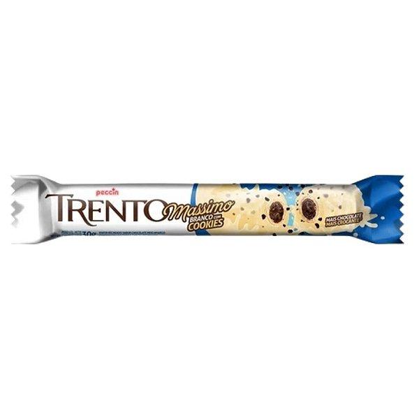 Chocolate Trento Massimo - Branco com Cookies