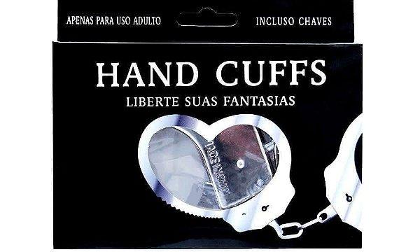 Algema de Metal Hand Cuff