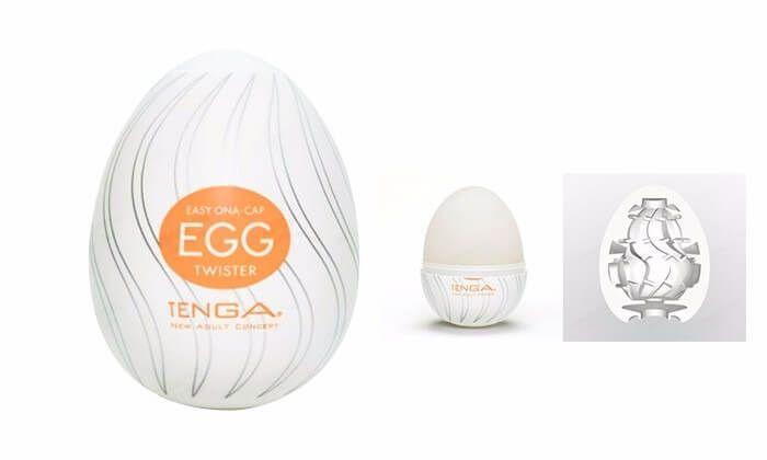 Masturbador Egg Tenga Twister