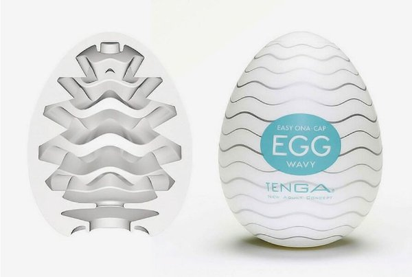 Masturbador Egg Tenga Wavy