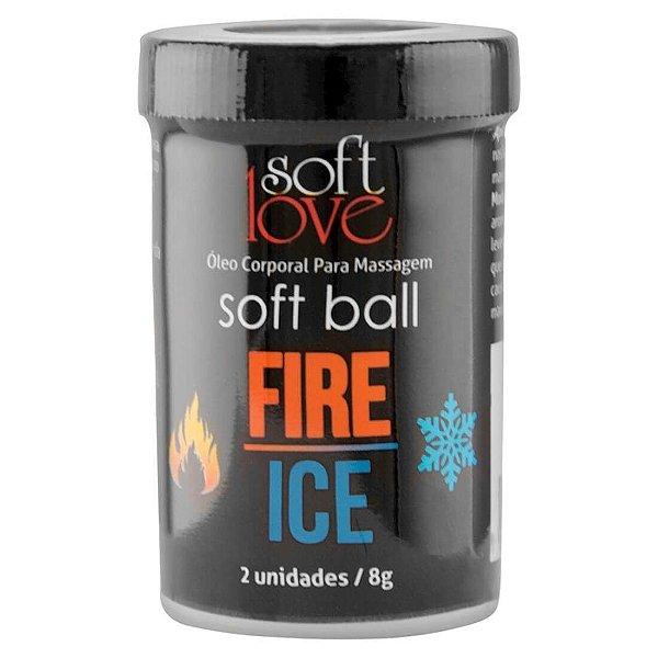 Bolinha Excitante Fire & Ice