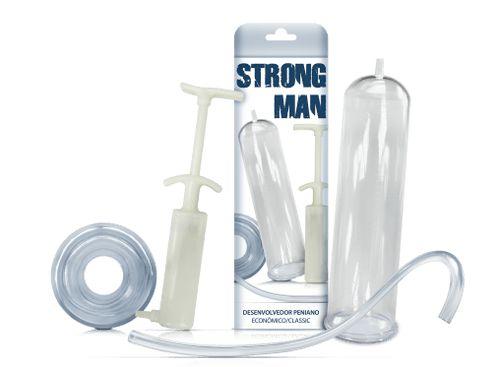 Bomba Peniana Manual Strong Man