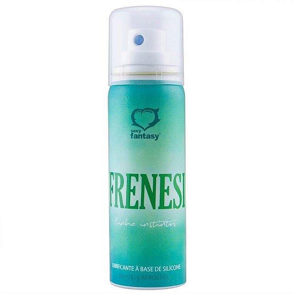 Lubrificante Siliconado em Spray Frenesi