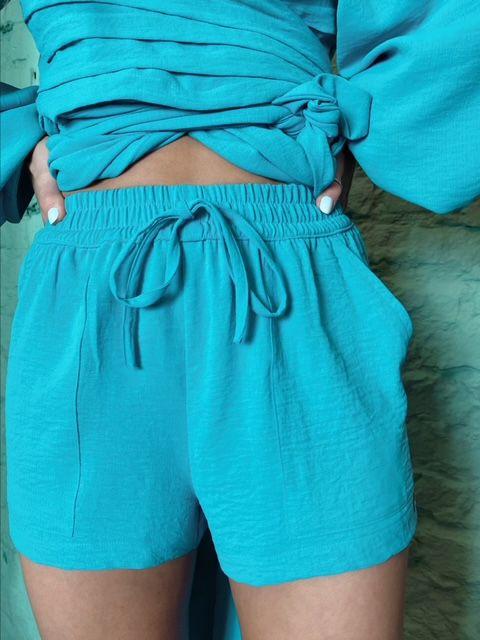 Shorts Jasmin Agua Marinha