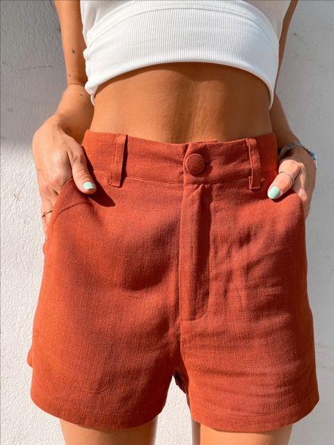 Shorts Guadalupe Marron
