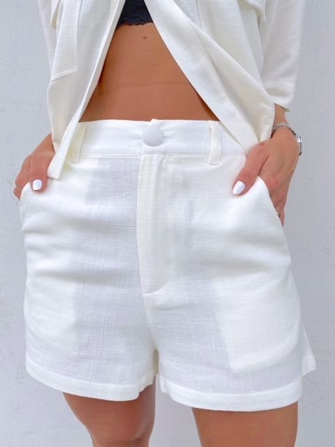 Shorts Guadalupe Branco