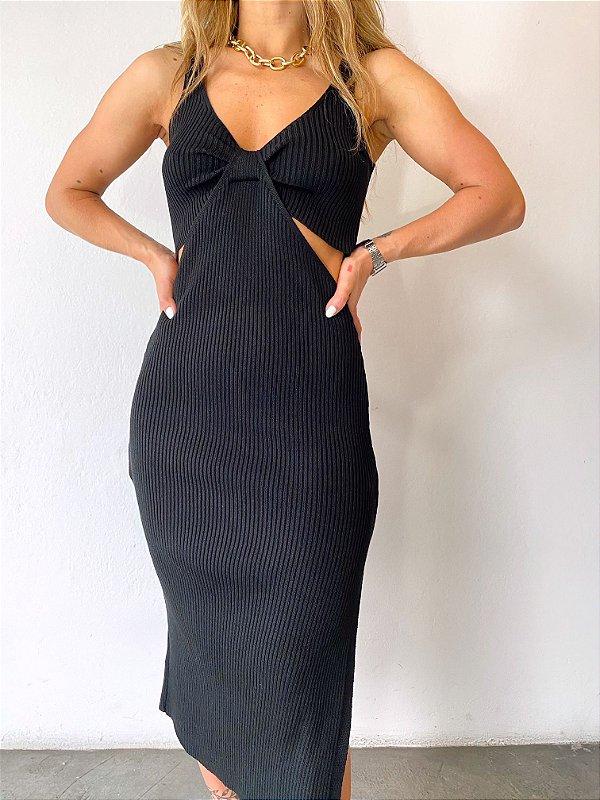 Vestido Natana Preto