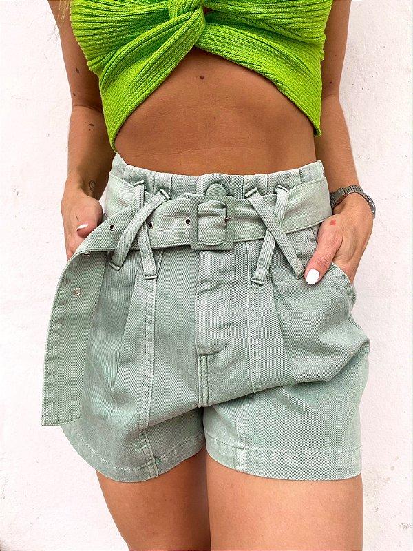 Shorts Pietra Pistache