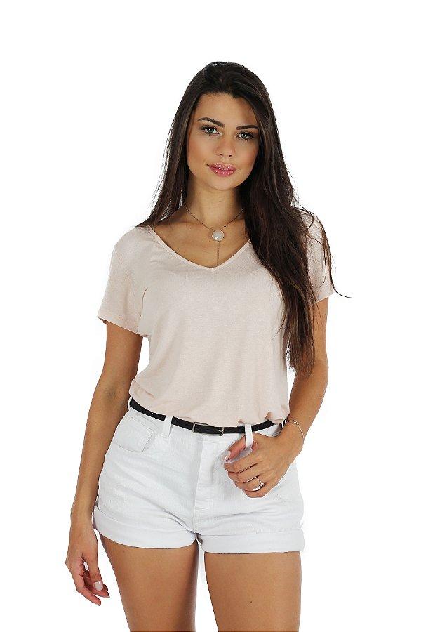 Shorts New Color Denim White