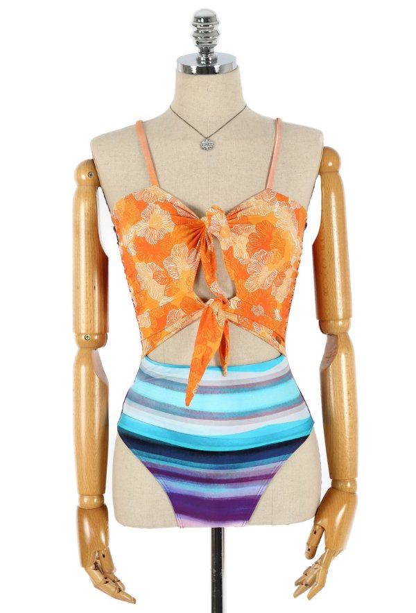 Body Maiô Laçarote Colorful