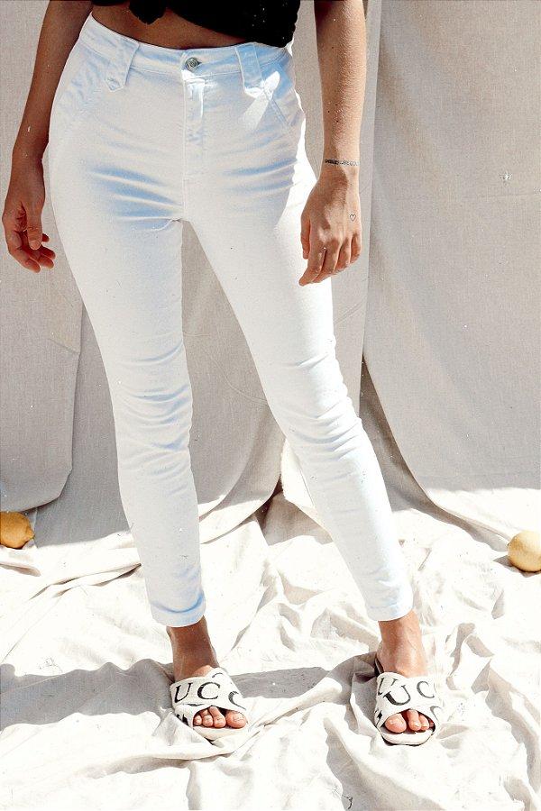 Calça Sarja Lupitta Branca