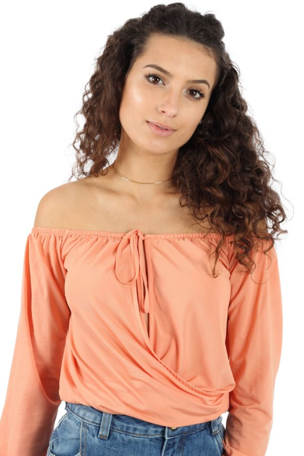 Blusa Florence Coral