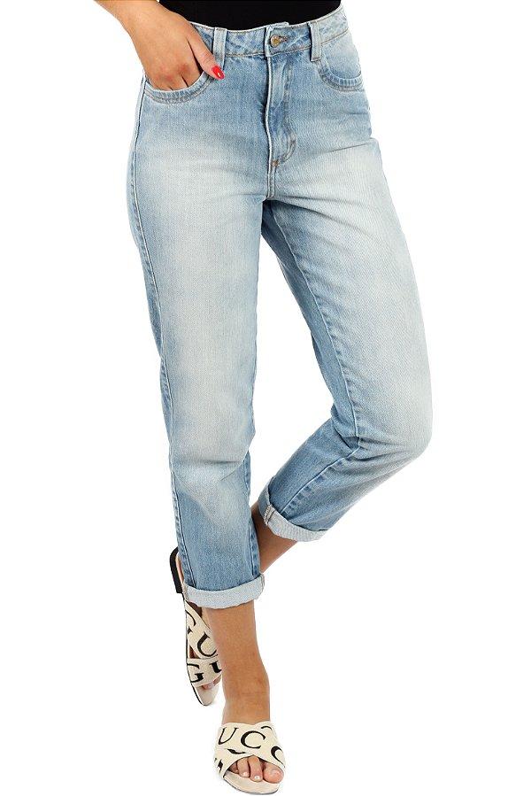 Calça Mom's Jeans Washed