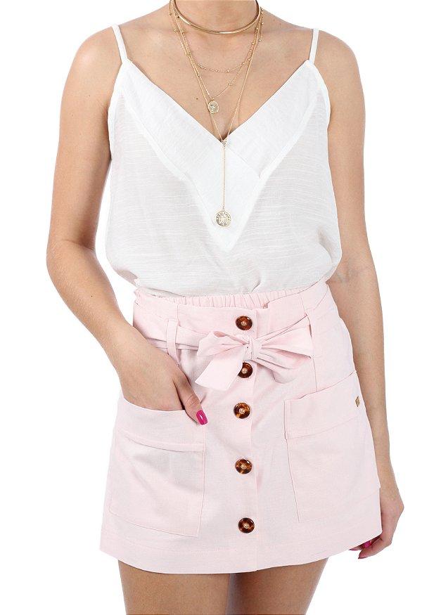 Shorts Saia Francesa Rosa