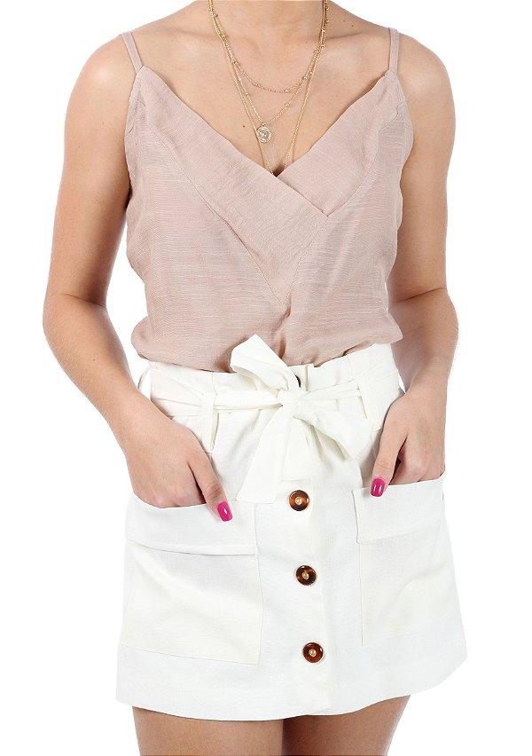 Shorts Saia Francesa Cotton