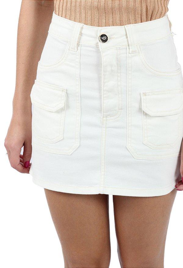Saia Sarja Pockets Off White