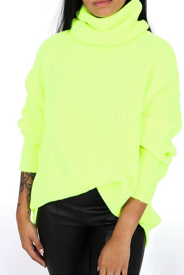 Tricot Maxi Lima Neon