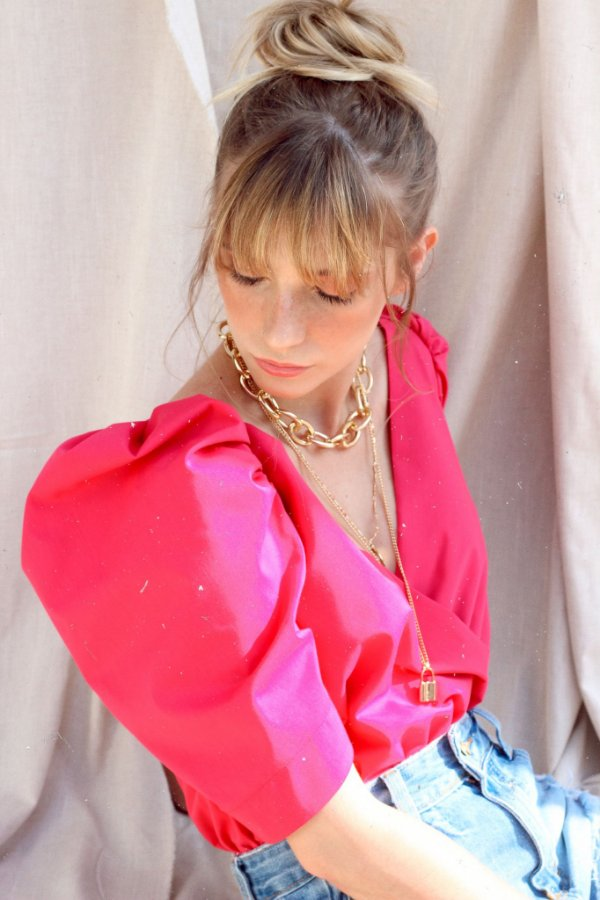 Body Thássia Pink