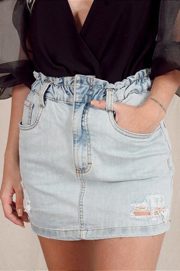 Saia Jeans Moon