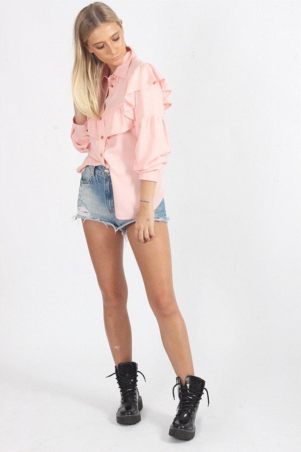 Camisa Luna Rosa