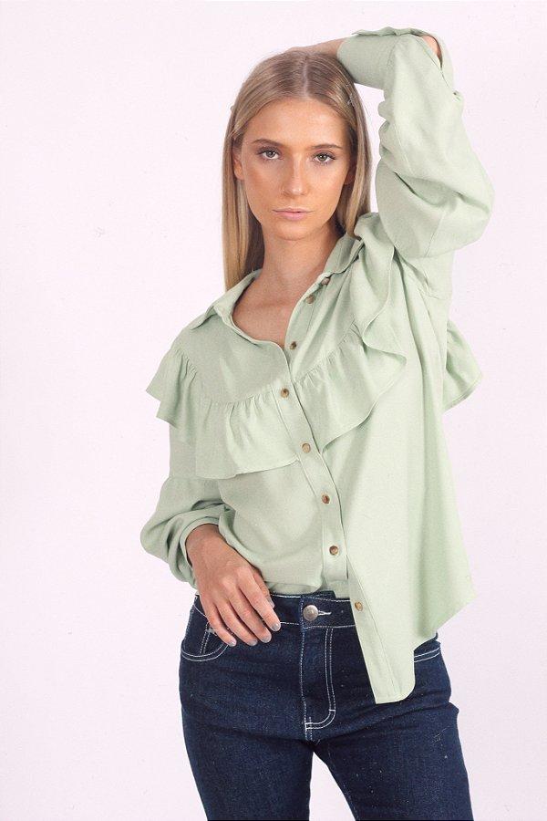 Camisa Luna Verde