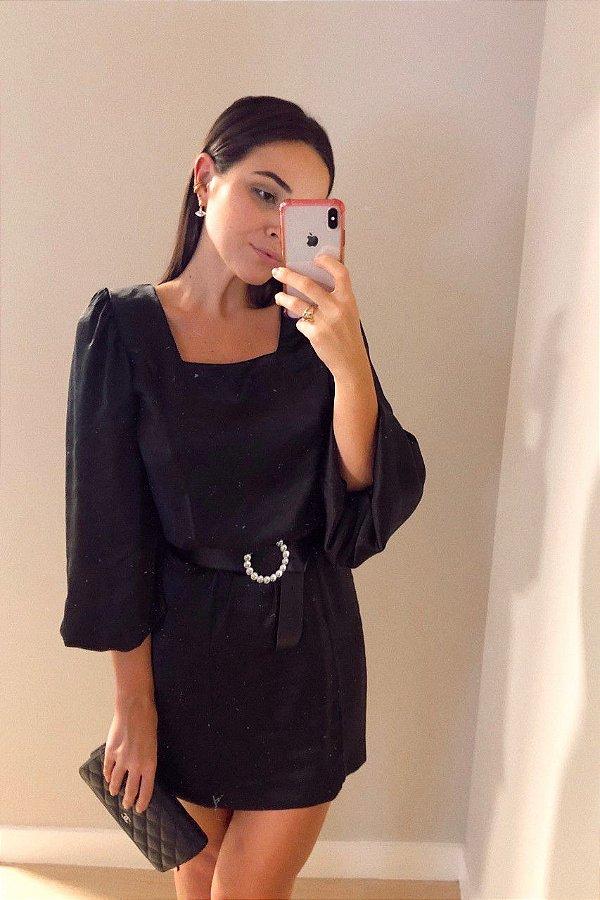 Vestido Bianca Preto