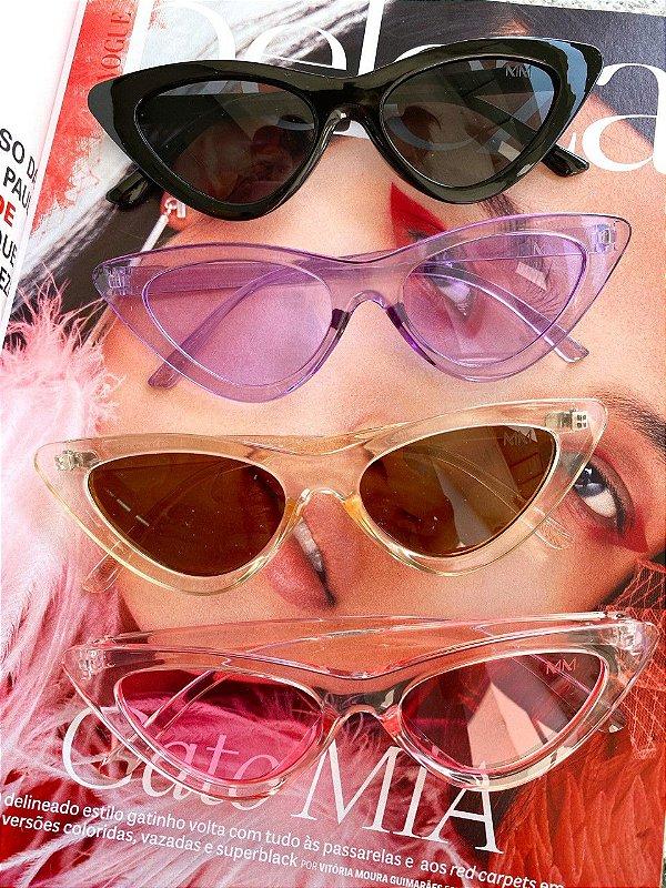Óculos Gatinho Acetato