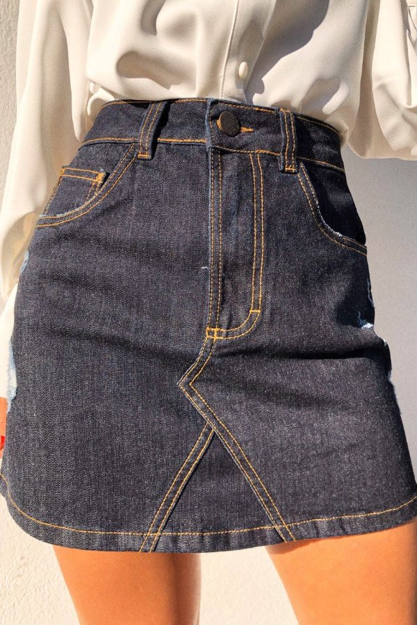 Saia Jeans Poppy
