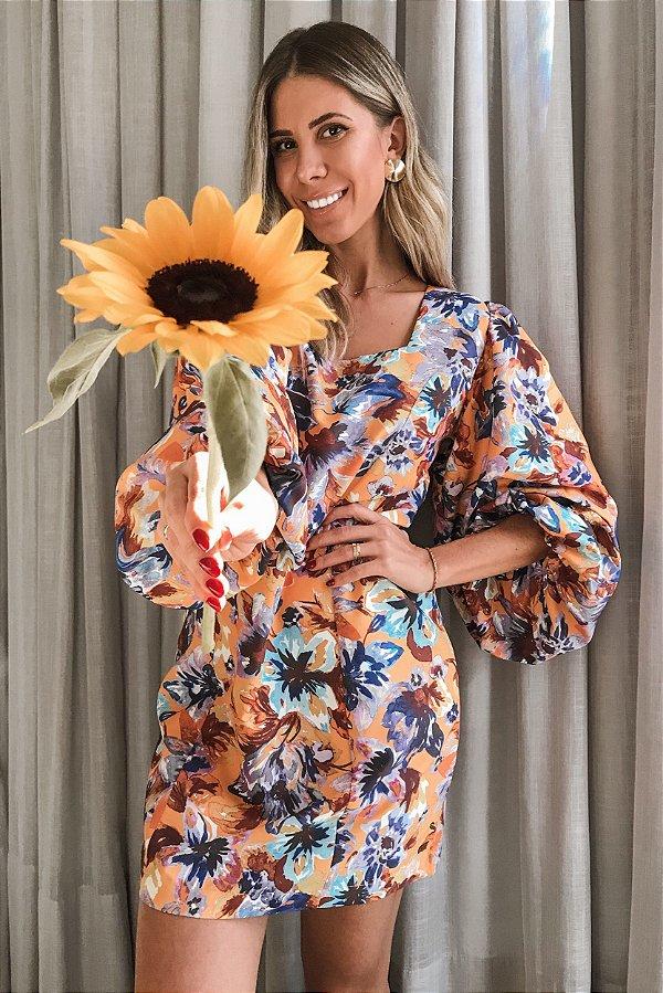 Vestido Bianca Floral