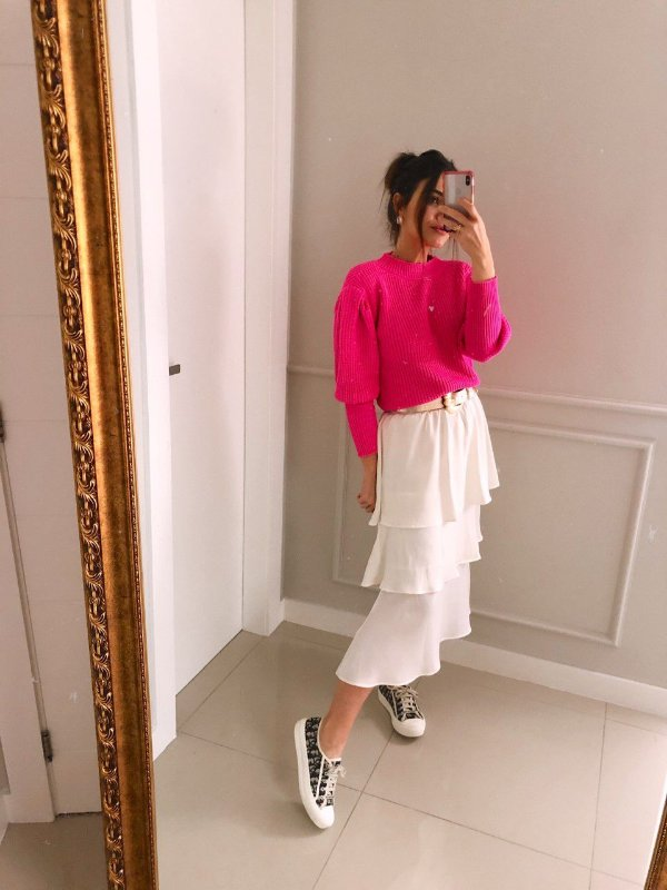 Tricot Bufante Pink