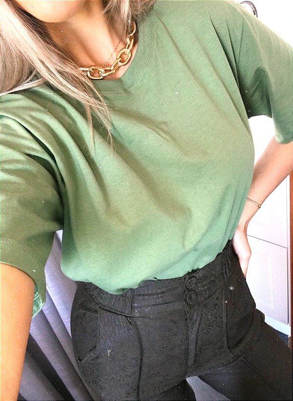Camiseta Boyfriend Verde