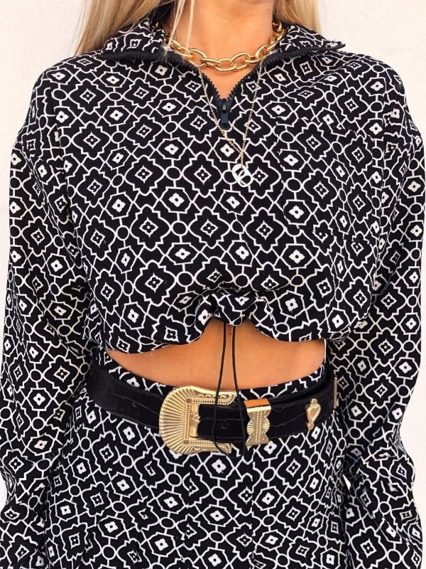 Blusa Azulejo