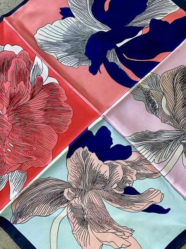 Lenço Florista
