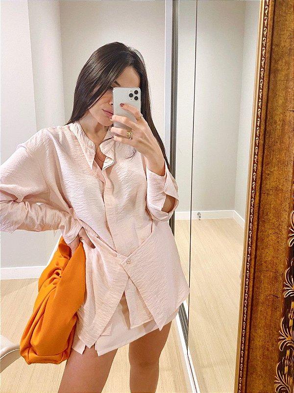 Camisa Versatilidade Rosa